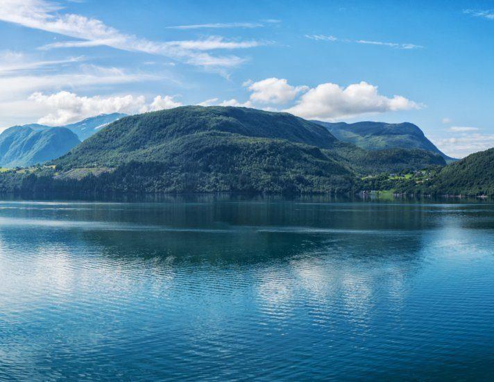 Panorama norwegische Fjorde