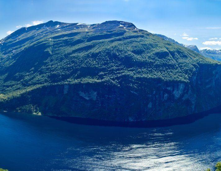 Norwegen - Geirangerfjord - Panorama
