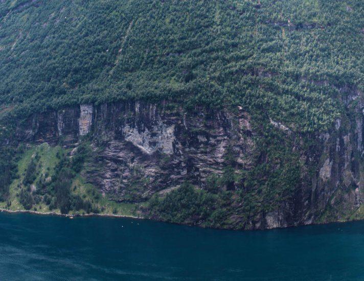 Geiranger Fjord Norwegen Panorama