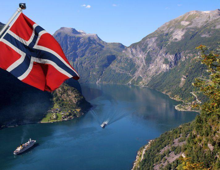 Geirangerfjord in Norway (Unesco World Heritage)