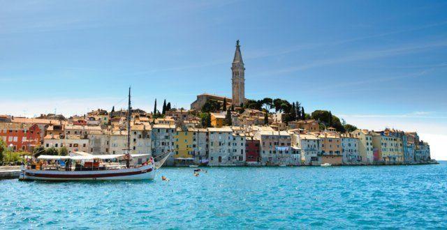 Rovinj: Historische Stadt in Istrien - Kroatien